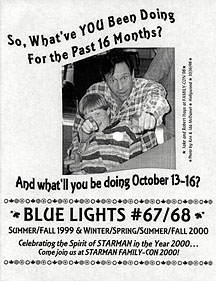 A BLUE LIGHTS issue cover